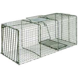 "Model 1114, Duke Heavy Duty Single Door Cage Trap, 36"" x 15"" x 14"""
