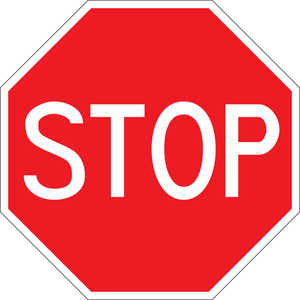 "36"" Stop Sign"