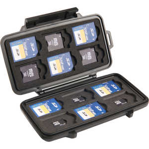 Pelican Memory Card Case for SD, mini SD, and micro SD Cards