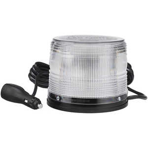 North American Signal 625 Series LED Beacon Light w/Magnetic Base, Green/White