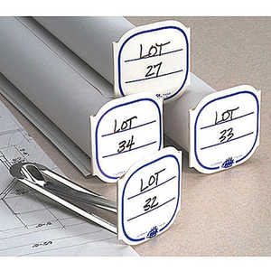 "Clipper Tags, Metal Clips & 2"" Cardboard Tags, Pack of 50"