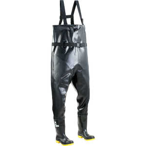 Dunlop Steel Toe and Midsole Chest Waders, Size 11
