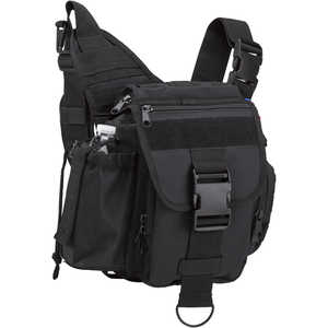 Rothco Advanced Tactical Shoulder Bag, Large, Black