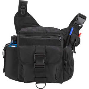 Rothco Advanced Tactical Shoulder Bag, X-Large, Black