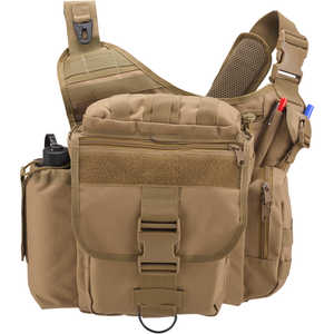 Rothco Advanced Tactical Shoulder Bag, X-Large, Coyote Brown