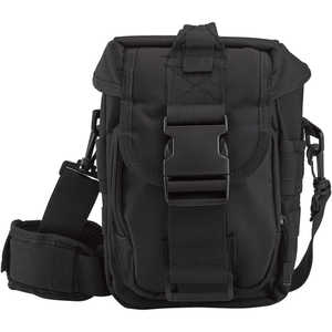 Rothco Flexipack MOLLE Tactical Shoulder Bag, Black