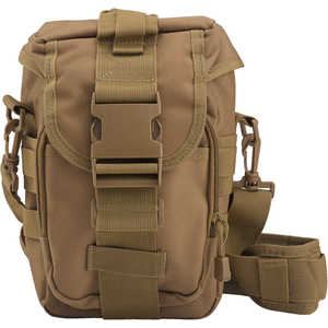 Rothco Flexipack MOLLE Tactical Shoulder Bag, Coyote Brown