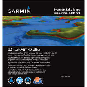Garmin U.S. LakeVü HD Ultra Maps