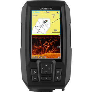 Garmin® STRIKER™ Plus 4cv Fishfinder/GPS Combo with CV20