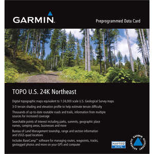 Garmin 24K TOPO Card, Northeast