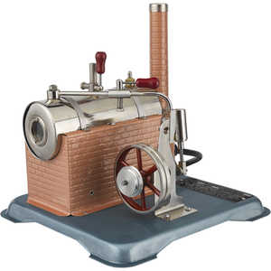 Classic Steam Engine Model