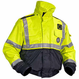 Mustang Survival High-Visibility Flotation Bomber Jacket