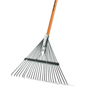 "Forestry Suppliers 22"" Deluxe Spring Brace Lawn Rake"