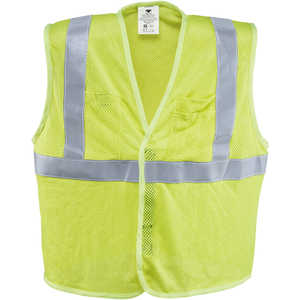"Dicke Safety Products Class 2 Flame-Resistant Mesh Safety Vest, X-Large, 48""-50"" Chest"