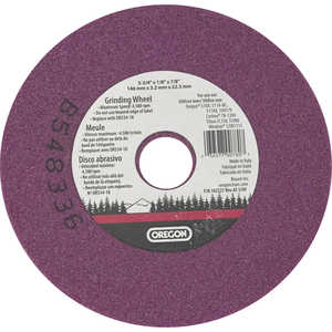 "Replacement 1/4"" Vitrified Grinding Wheel for Oregon Bench Chain Grinder"