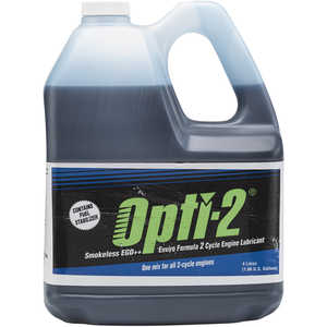Opti-2 Two-Cycle Oil, One Gallon Jug