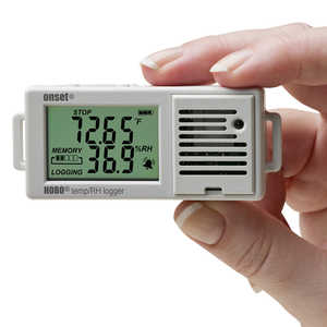 HOBO UX100 Temperature/Relative Humidity Data Logger with 3.5% Accuracy