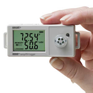 HOBO UX100 Temperature/Relative Humidity Data Logger with 2.5% Accuracy