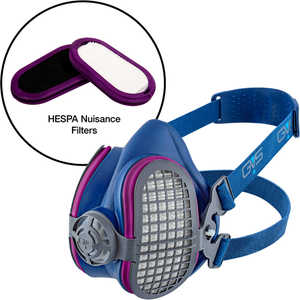 GVS Elipse® Half-Mask Respirator with HESPA® + P100 Nuisance Odor Filters