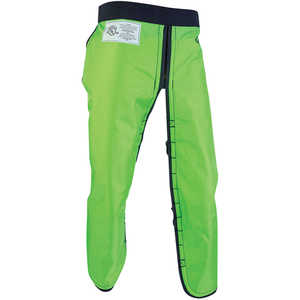 "Arborwear RAC Apron Style Chain Saw Chaps, Long, 34""-36"" Inseam, Safety Green"