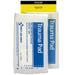 "SmartCompliance First Aid Cabinet Refill, 5"" x 9"" Trauma Pad"