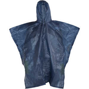 Compass 360 Emergency Waterproof Poncho, Blue