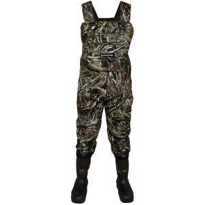Compass 360 Rogue 3.5mm Neoprene Cleated Sole Camo Chest Waders, Size 10