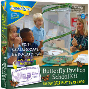 Insect Lore Butterfly Pavilion School Kit