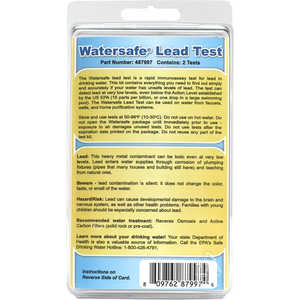 WaterSafe Lead Water Test Kit