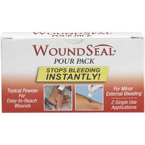 WoundSeal Blood Clotting Powder, Box of 2