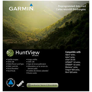 Garmin® HuntView™ GPS Maps