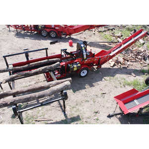 Wood Beaver Model 16 with EZ Option and 8' Conveyor