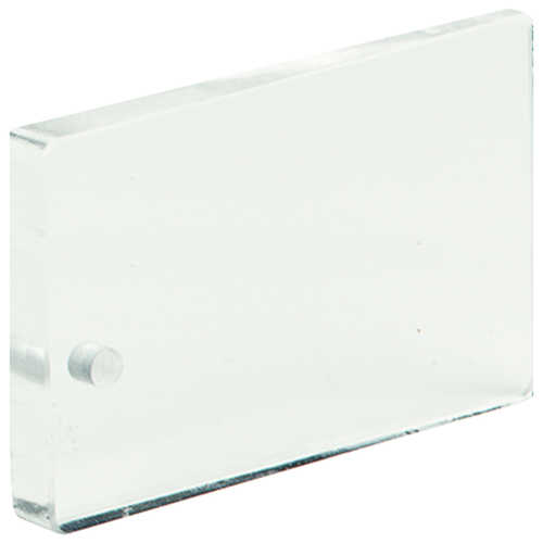 Jim-Gem Rectangular Prism, 20 BAF, Clear, English