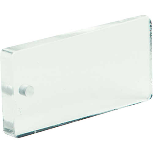 Jim-Gem Rectangular Prism, 30 BAF, Clear, English