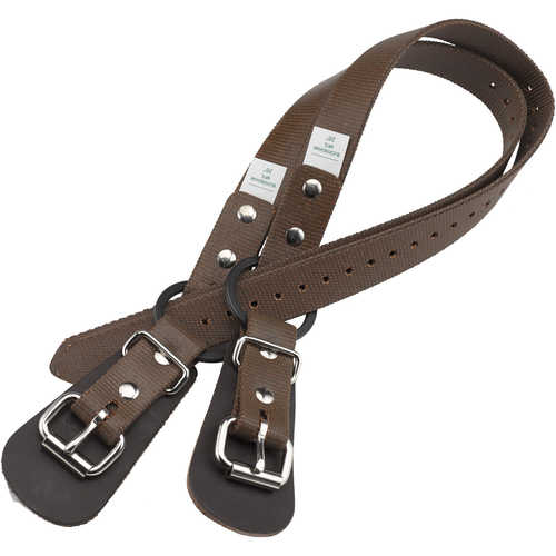 "Buckingham Tree/Pole Climbers 26"" Nylon Ankle Straps w/Split Ring, Pair"