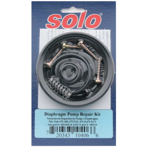 Solo Sprayers Diaphragm Pump Repair Kit
