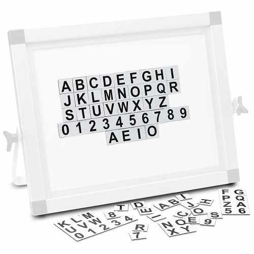 Replacement Magnetic Letter and Number Set for Forestry Suppliers Photo Board