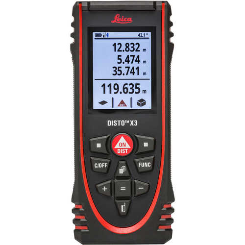 Leica® DISTO™ X Series Distance Measurers