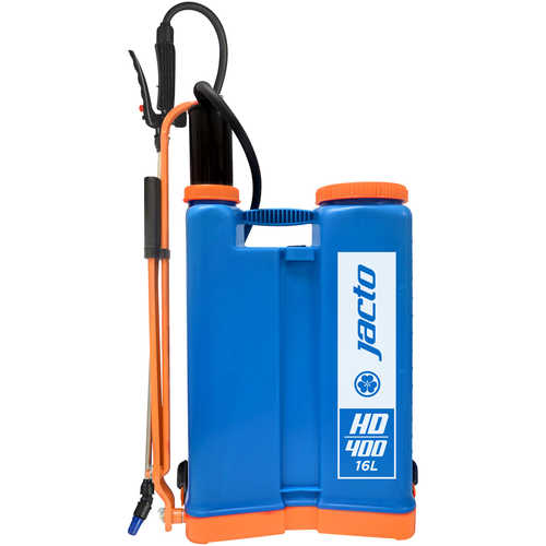 Jacto Model HD400 Backpack Sprayer, 4-Gallon, Blue Tank