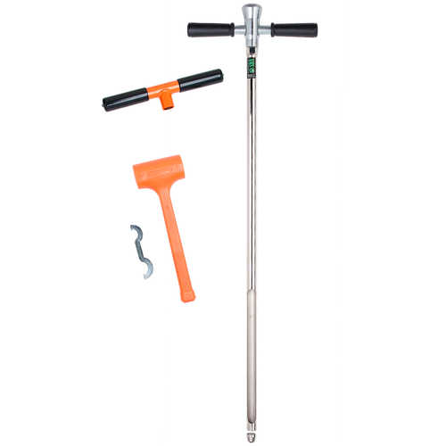 "AMS Heavy-Duty Hammer Head Soil Probe Kit with 13"" Window"