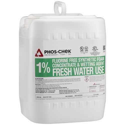Phos-Chek® 1% Fluorine Free Foam Concentrate