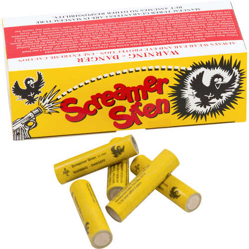 Bird Banger Screamer Siren with Blank Primer, Box of 100