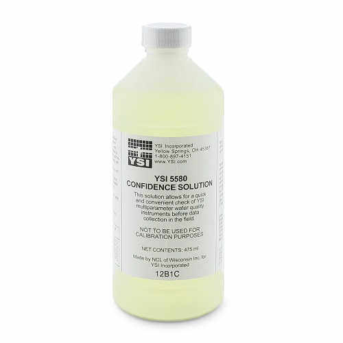 YSI Confidence Solution, 475 mL