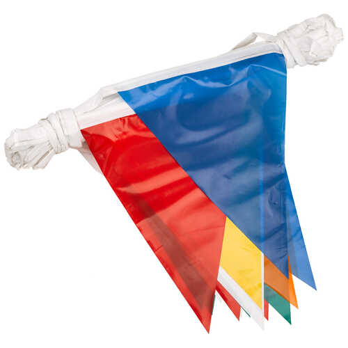 Multi-Color Pennant Flag
