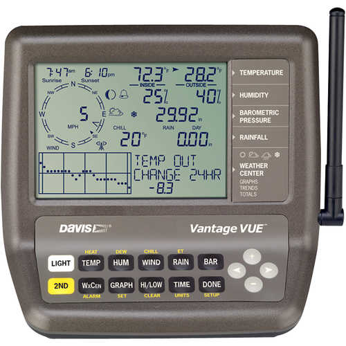 Davis Vantage Vue Wireless Weather Station, English