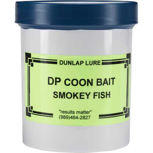 Dunlap Lures DP Coon Smoked Fish Raccoon Bait