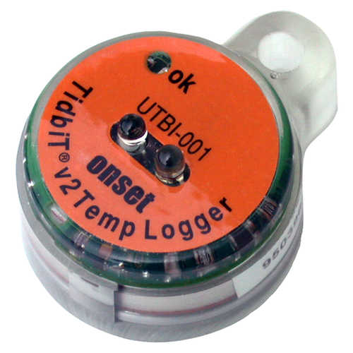 Onset TidbiT v2 Temp Data Logger