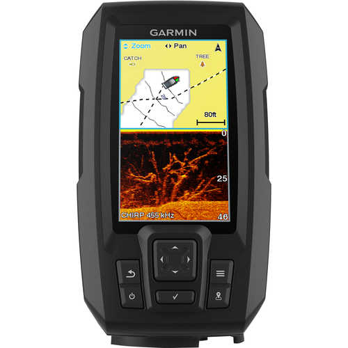Garmin STRIKER Plus 4cv Fishfinder/GPS Combo with CV20