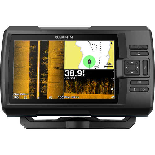 Garmin STRIKER Plus 7sv FishFinder/GPS Combo w/CV52