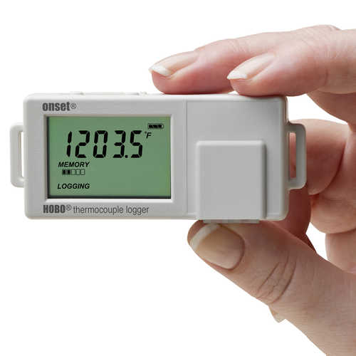 HOBO UX100 Single-Channel Thermocouple Data Logger